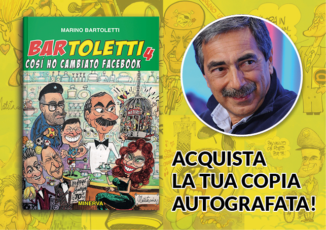 "Acquista la copia autografata del ""BAR TOLETTI 4"""