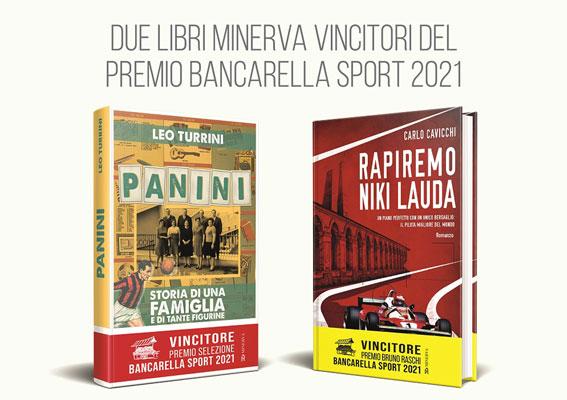 Due libri Minerva vincono il Premio Bancarella Sport 2021